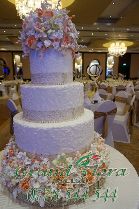 wedding cake structures in sri lanka cake structures grand flora pvt ltd 25778